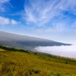 Orotava valley with sea of clouds in Tenerife mountain — Stock Photo #12826980
