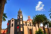 La Orotava Concepcion church red dome — Stock Photo