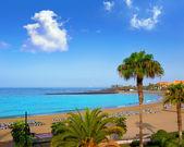 Las vistas beach Arona in costa Adeje Tenerife — Stock Photo