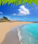 Adeje coast Las americas beach in south Tenerife — Stock Photo