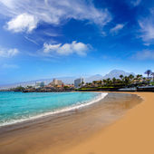 Las Americas Beach Adeje coast Beach in Tenerife — Stock Photo