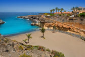 Beach Playa Paraiso costa Adeje in Tenerife — Stock Photo