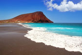 Beach Playa de la Tejita in Tenerife — Stock Photo