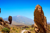 Teide National Park Roques de Garcia in Tenerife — Stock Photo