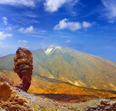 Teide National Park Roques de Garcia in Tenerife — Foto Stock