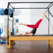 Постер, плакат: Aerobics pilates instructor woman in cadillac
