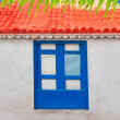 Santa Cruz de La Palma colonial house facades — Stock Photo #13300982