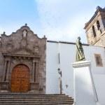 Santa Cruz de La Palma Plaza de Espana Iglesia — Stock Photo #13305328