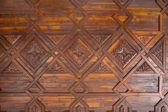 Santa Cruz de La Palma coffered wood ceiling — Stock Photo