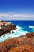 La Palma Santa cruz volcanic atlantic coast — Stock Photo
