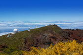 La Palma Roque de Muchachos ORM observatory — Stock Photo
