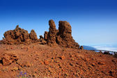 Roque de los Muchachos stones in La Palma — Stock Photo