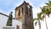 Santa Cruz de La Palma Plaza de Espana Iglesia — Stock Photo