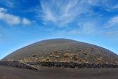 Wulkan san antonio z teneguia w la palma — Zdjęcie stockowe