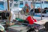 Balearic islands professional fisher boats — Stockfoto