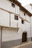 Cuenca Canete in Spain Castilla la Mancha white house — Stock Photo