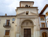 Canete Cuenca San Julian church in Spain Castilla — Stock Photo