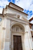 Canete Cuenca San Julian church in Spain Castilla — Stock Photo