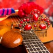 Cassic spanish guitar with flamenco elements — Stock Photo #25361469