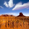 ストック写真: Dreamcatcher from Navajo Monument West Mitten Butte