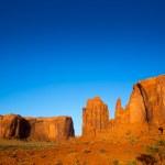 Monument Valley Rain God Mesa Utah — Stock Photo #31328237
