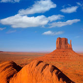 Monument Valley West Mitten Butte Utah — Stock Photo