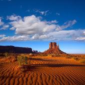 Monument Valley West Mitten Butte Utah Park — Stock Photo
