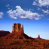 Utah park pomnik doliny zachodniej rękawica butte — Zdjęcie stockowe