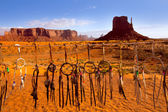 Dreamcatcher from Navajo Monument West Mitten Butte — Stock Photo