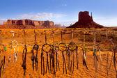 Dreamcatcher from Navajo Monument West Mitten Butte — Stock Photo