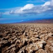 Stock Photo: Devils golf course Death Valley salt clay formations