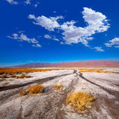 Death Valley National Park California Badwater — Stock Photo