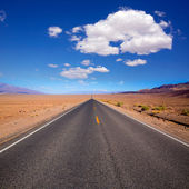 Badwater road Death Valley National Park California — Stock Photo