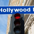 Stock Photo: Hollywood Boulevard sign illustration California