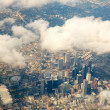 Stock Photo: Houston Texas cityscape view from aerial view