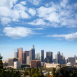 Downtown LA Los Angeles skyline California — Stockfoto
