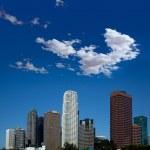 LA Los Angeles Downtown cityscape California — Stock Photo