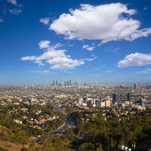 Downtown LA Los Angeles skyline California — Stock Photo