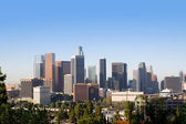 Downtown LA Los Angeles skyline California — Stock Photo