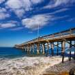 Newport pier beach in CaliforniUSA — Stock Photo #32008499