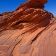 Arizona rocks on Page near Antelope Canyon — Stock Photo