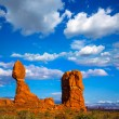 Arches National Park Balanced Rock in Utah USA — Stock Photo #32365435
