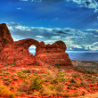 Arches-Nationalpark in Moab-Utah-usa — Stockfoto #32365733