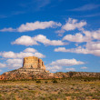 Arizona desert on US 89 Random Square Butte — Stock Photo