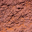 Stock Photo: Arizona red stone detail with orange desert sand