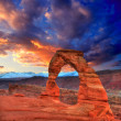 Arches National Park Delicate Arch in Utah USA — Foto Stock