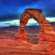 Stock Photo: Arches National Park in Moab Utah USA