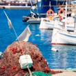 Stock Photo: Fishing tackle in FormenterMediterraneislands