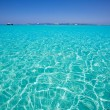 Illetes Illetas beach in Formentera Balearic Islands — Foto de Stock