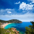 Ibiza caleta de Sant Vicent cala San vicente san Juan — Stock Photo #32944113